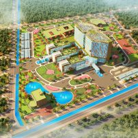 FLC Group ventures into healthcare business with new hospital 1000 beds in Thai Binh province